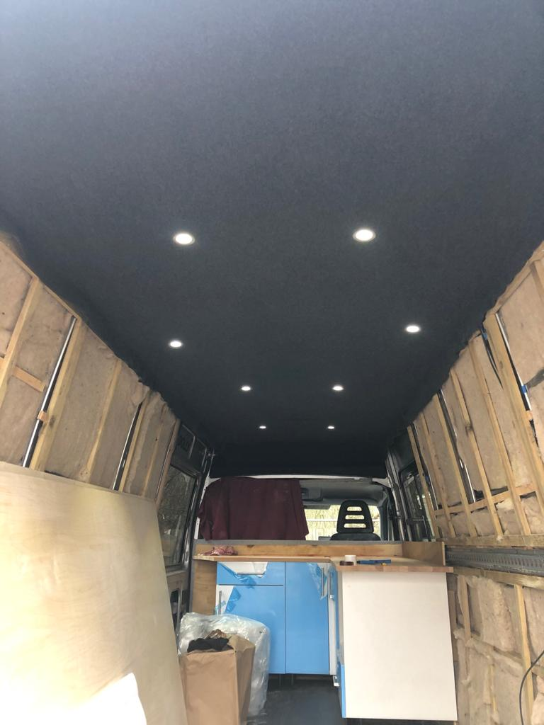 Iveco wall support and wool insulation 2021