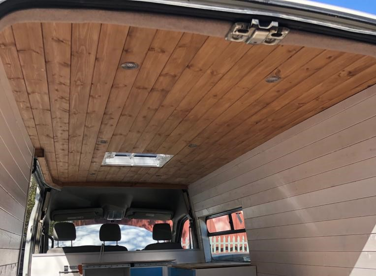 LDV Wood clad ceiling and walls 2021