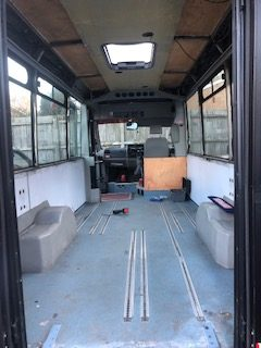 The Red Bus work in progress 2021