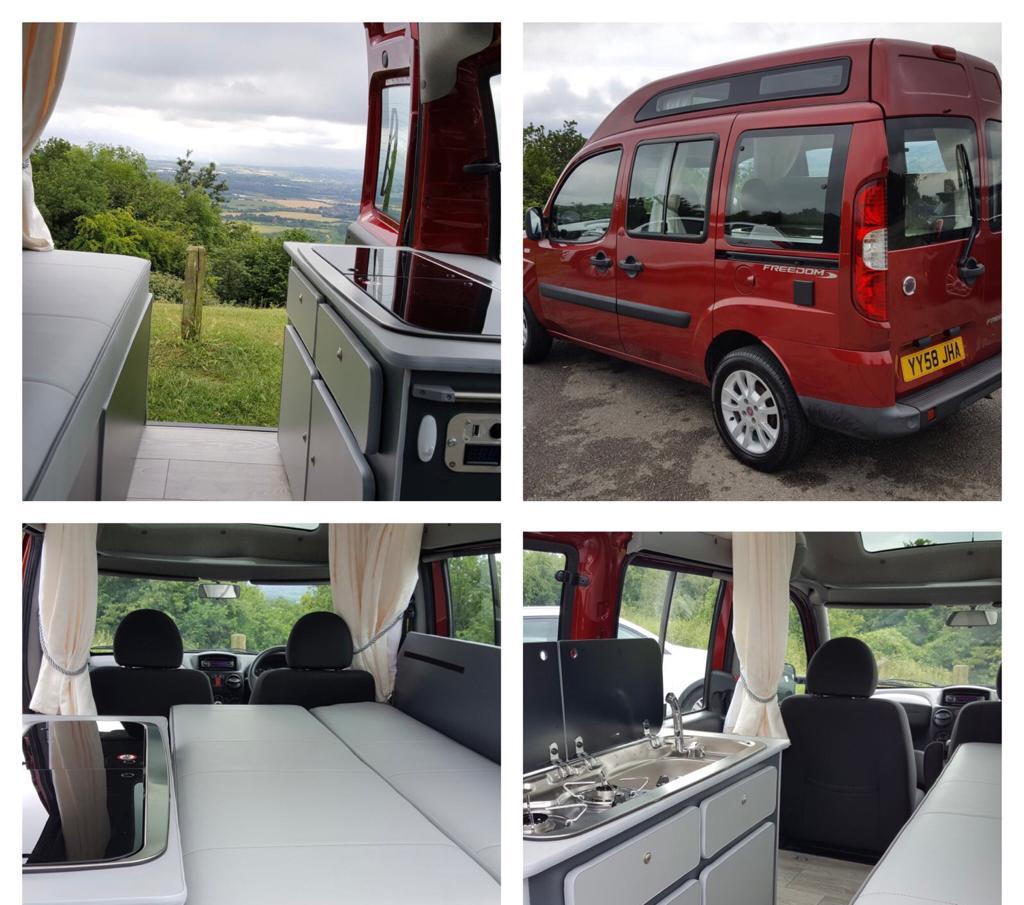 Fiat Doblo Mr Campervan conversion UK