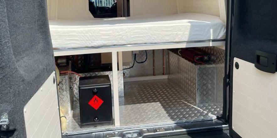LWB High Top Citroen Relay - Bedroom and Garage - 2021