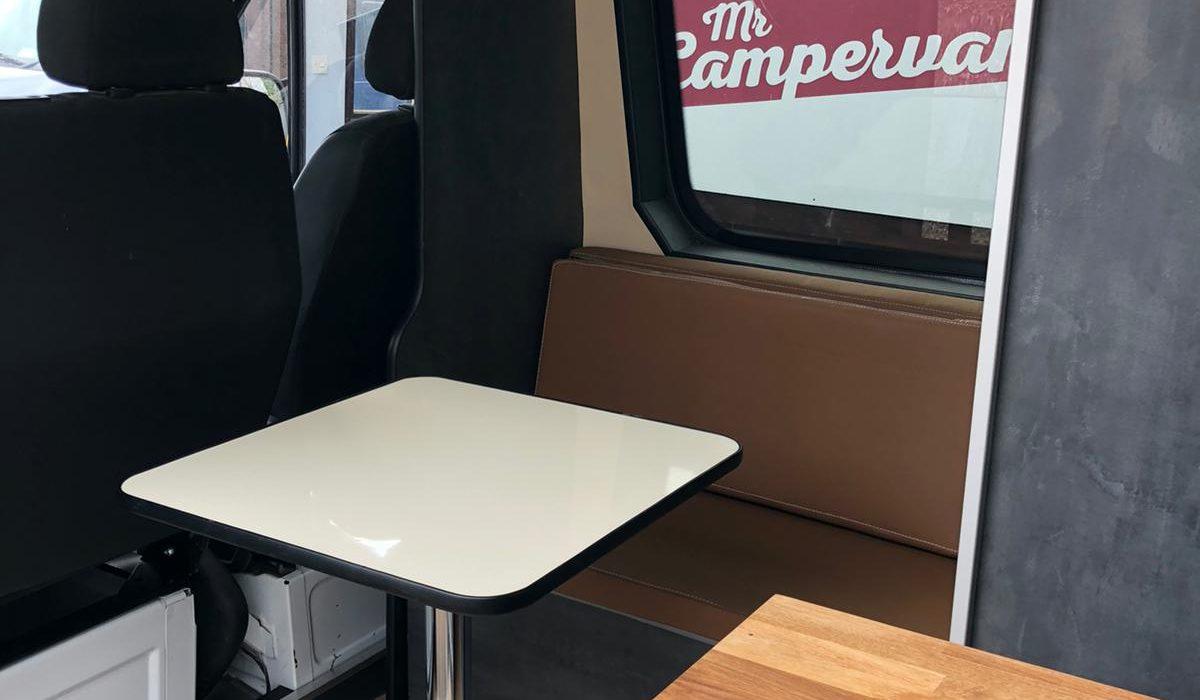Sprinter seating area 2021